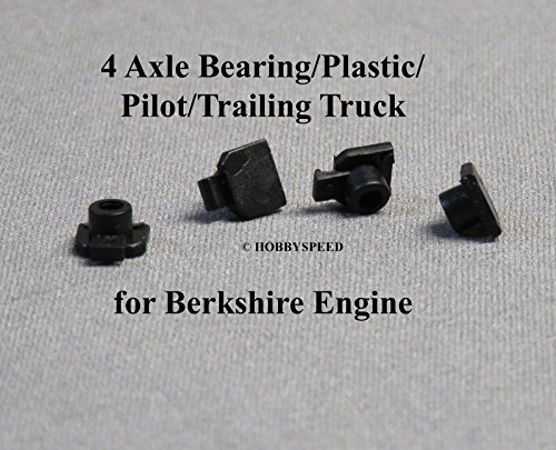 LIONEL AXLE BEARING SET PLASTIC PILOT TRAILING TRUCK for BERKSHIRE engines (Axle Pilot)