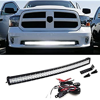 Amazon ijdmtoy 40 42 240w high power double row curved led ijdmtoy 40 42 240w high power double row curved led light bar w aloadofball Images