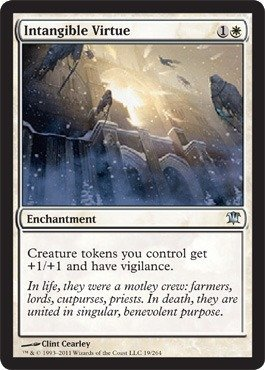 Magic: the Gathering - Intangible Virtue - Innistrad