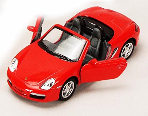 porsche-boxster-s-convertible-red-kinsmart-5302d-1-34-scale-diecast-model-toy-car-brand-new-but-no-b