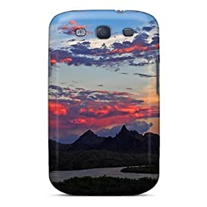 Fashionable Style Case Cover Skin For Galaxy S3- Needle Mountains Colorado River by lolosakes