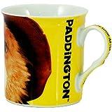 Officially Licensed Paddington Bear Movie Close Up Yellow Ceramic Coffee Mug Cup