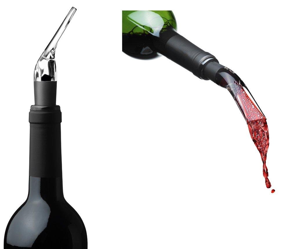 MENU Blade Twist Corkscrew and Decanting Pourer, Black by Menu (Image #4)