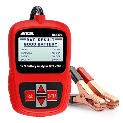 ANCEL BST200 Batterie Testeur de Piles Universel Testeur 12 V Analyseur Testeur de batterie de voiture de Charge Système Testeur de Garage équipement Battery Tester
