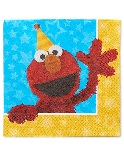 Buy Discount American Greetings Sesame Street Lunch Napkins (16 Count)