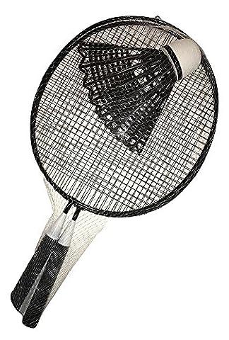Giant Black Badminton Summer Fun Game Set (Summer Palace Dvd)