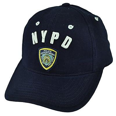 NYPD New York Police Department Law Enforcement Velcro Hat Cap Cops Patrol Badge