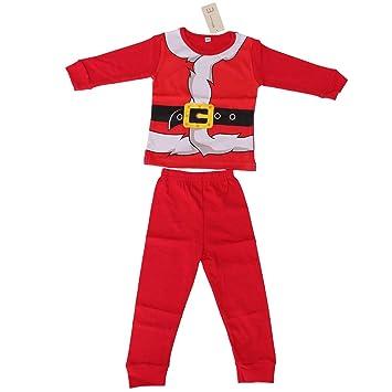 nuovo arrivo d877a 2e55a BESTOYARD Pigiama Babbo Natale Bambino Pigiami Invernali ...
