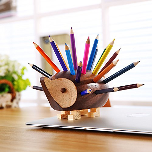 YOURNELO-Creative-Hedgehog-Pen-Pencil-Holder-Desk-Organizer-Accessories