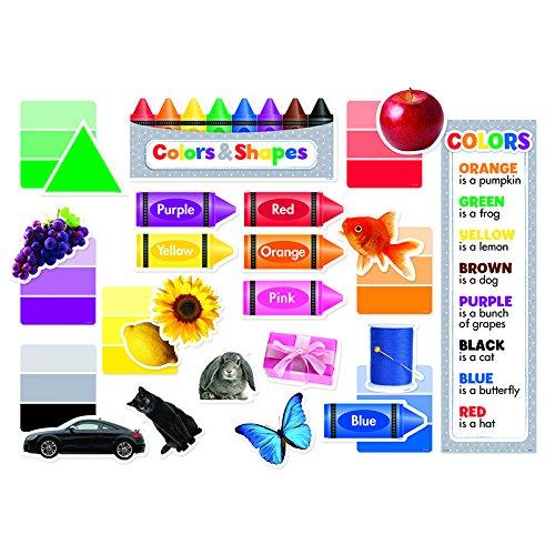 Creative Teaching Press Mini Bulletin Board, Colors & Shapes (6978)