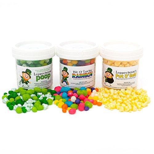 Patricks Leprechaun (Lucky Leprechaun Candy Set - Fun St. Patrick's Day Candy - Leprechaun Poop / Bit O' Lucky Rainbow / Pot O' Gold / Allergen Free!)
