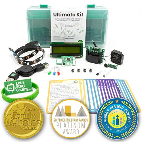 Ultimate Coding Kit for Kids   Typed Coding and STEM Toy for Kids 10-15   Lessons -