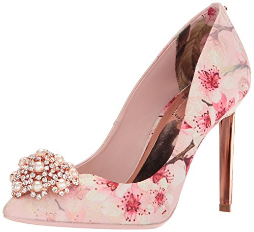 Ted Baker Women's Peetchp 2 Pump, Blossom Print Jacquard, 9 B(M) US (Ted Dress Print Baker)