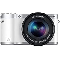 Samsung NX300 Mirrorless Digital Camera with 18-55mm f/3.5-5..6 OIS Lens (White) - International Version (No Warranty)