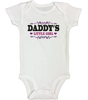 274f853681de7 Cute Girls Bodysuit or T- Shirt Daddy's Little Girl Funny Princess Bodysuit  - Little Royaltee