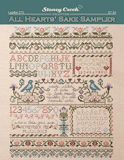 All Heart's Sake Sampler Cross Stitch Chart