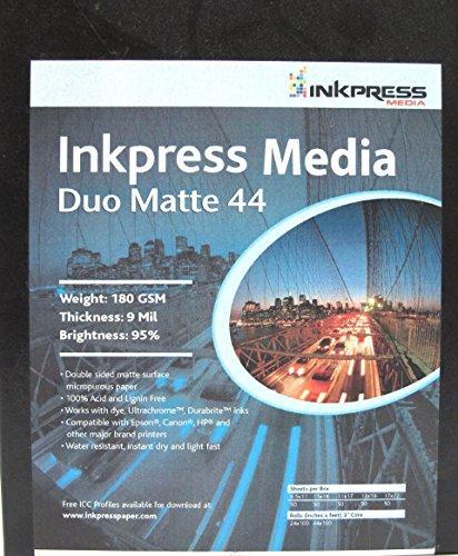 Inkpress Media Duo Matte 44 5x7 (50 Sheets)