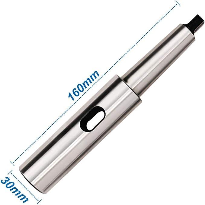 Morse Taper Extension Sleeve Socket Engineering Tools Drill Tool 30mm Diameter x 160mm Length