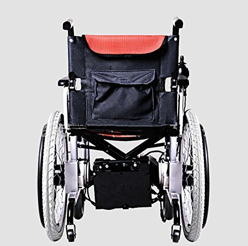 New electric wheelchair aluminum alloy portable reliable Portable motorized wheelchair