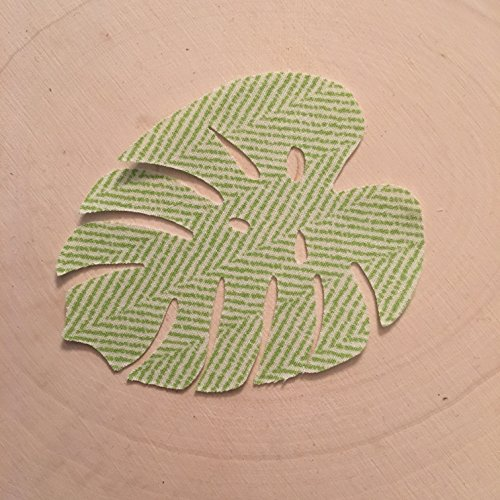Iron On Applique, Palm Leaf Applique, Tropical Applique, Tropical Theme, Hawaiian Decorations, Quilting Applique, Onesie Appliques Sewing Applique, Onesie Party