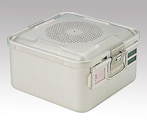 滅菌コンテナ- S ディスポ紙フィルタ-タイプ 285×280×150mm /8-7511-03   B07BL5K6KZ