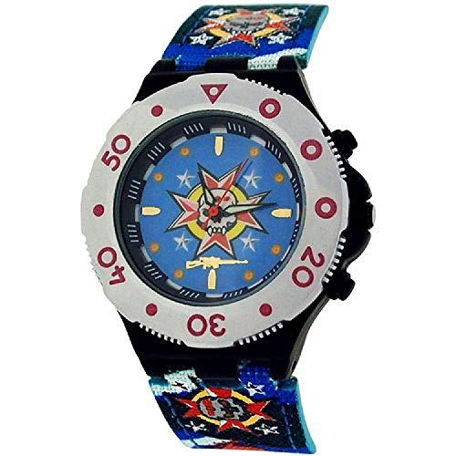 Call Of Duty Boy's Blue Cameo AK47 Icon Analogue Watch (Analogue Icon Watch)