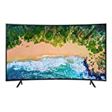 "Samsung UN65NU7300FXZX Smart TV Curvo 65"" 4K Ultra HD, 3 HDMI, 2 USB, Charcoal Black (2018)"