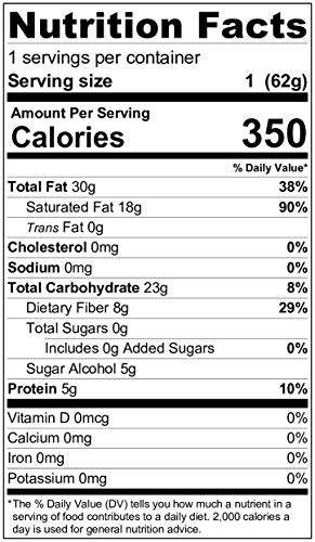BETTER KETO Snacks 80% Dark Chocolate Bars with Sea Salt | Sugar & Gluten Free Healthy Snacks | Low Carb High Fat Low Calorie Keto, Paleo & Vegan Diet Dessert | 2.5 Oz 24-Pack by BETT3R KETO (Image #1)