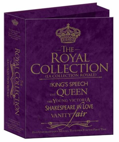 Royal Collection (The King's Speech / The Queen / The Young Victoria / Shakespeare in Love / Vanity - Dvd Fair Vanity