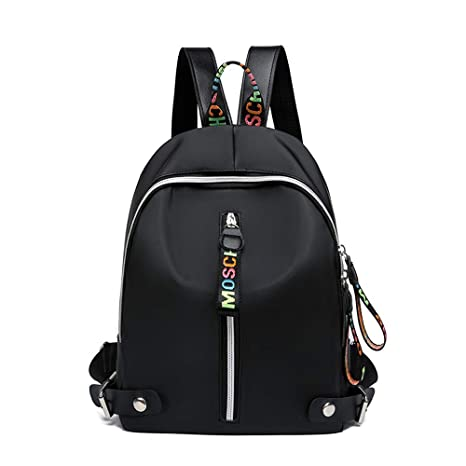 Mochila Escolar Chica mochila de lona Mujer Basil escolar Mochilas Daypack Gran Capacidad Hombres Mochila para