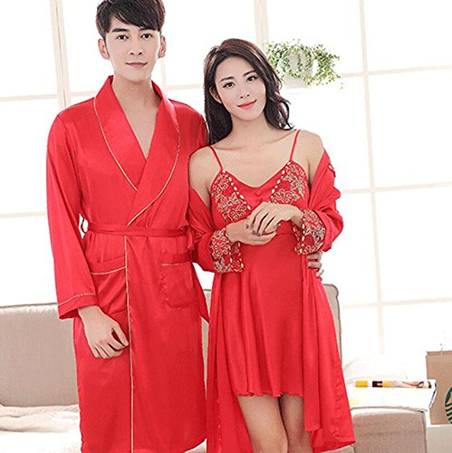 Festive Gowns s Men with Dressing Gowns Dressing Nightgown Dress Wanyne s Bathrobe Pajamas Strap Bridegroom 5HAf0XnAxq