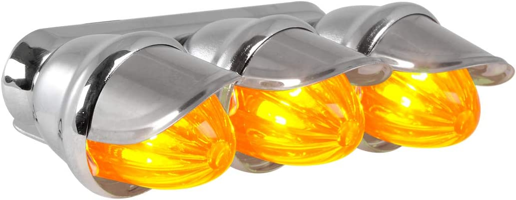 Blazer C534BCK 3//4 Round Clearance//Side Marker Light Clear