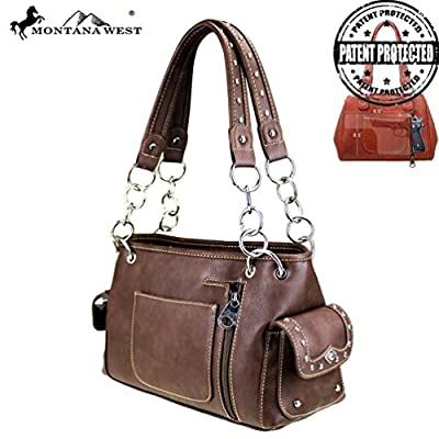 MW405G-8085 Montana West Concho Collection Concealed Handgun Satchel