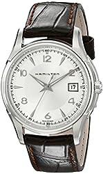 Hamilton Men's HML-H32411555 Jazzmaster Silver Dial Watch