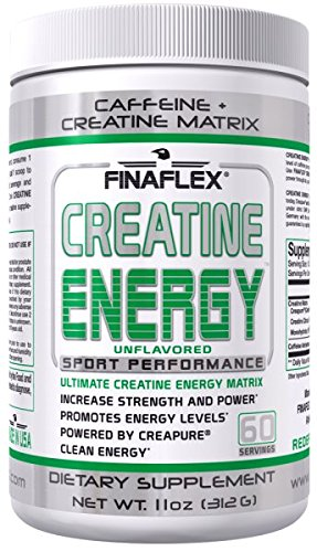 Finaflex Creatine Energy, Unflavored, 11 Ounce