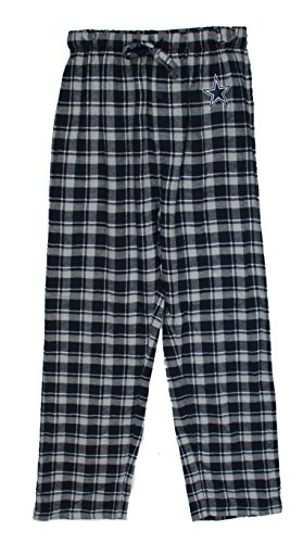 Dallas Cowboys Adult Small Flannel Plaid Pajamas Sleep Pants - Sleepwear - Mens Dallas Cowboy Pajama Pants