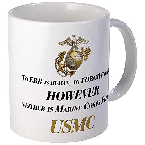 usmc coffee mug black - 8