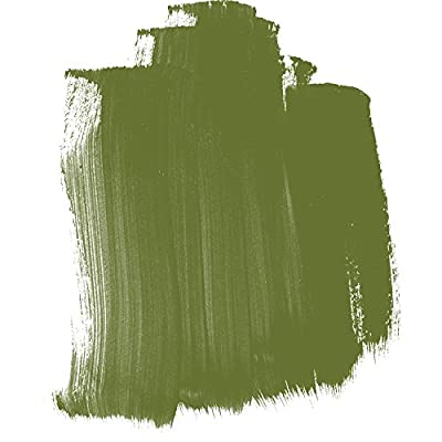 4oz. High Flow Acrylic Paint Color: Green Gold