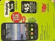 Samsung S820L Core Prime Straight Talk LTE Prepaid Smartphone - Black