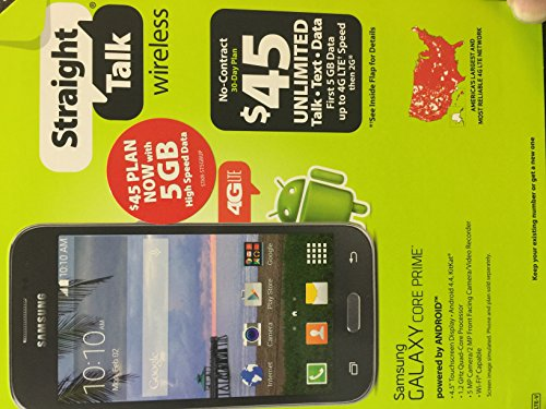 Click to buy Samsung Galaxy CORE PRIME Straight Talk SmartPhone Uses Verizon Towers LTE S820 - From only $129.99