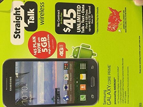 Samsung Galaxy CORE PRIME Straight Talk SmartPhone Uses Verizon Towers LTE S820
