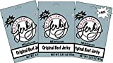 Moses Family Jerky, Original Beef Jerky Multi Pack, 3.25 Ounce (Pack of 3), Tender Sliced Meat