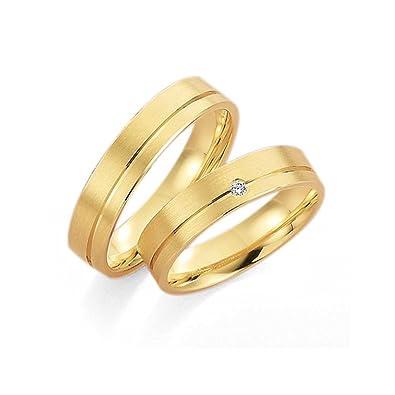 Trauringe Eheringe Verlobungsringe Gold Gelbgold Brillant Top Design