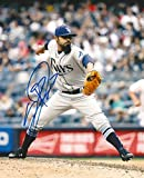 Sergio Romo Autographed Picture - 8x10 COA B - Autographed MLB Photos