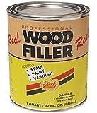 Leech Real Wood Filler - Quart