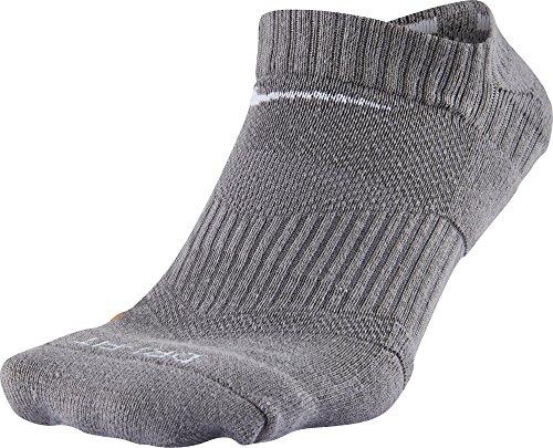 UPC 888408501677, Nike Mens Dri-Fit Performance No Show Sports Golf Ankle Socks, Grey - Medium 6-9