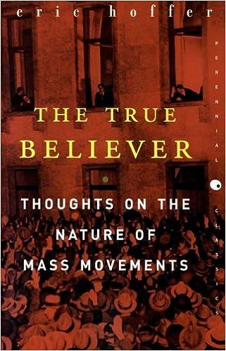 The True Believer Eric Hoffer Pdf