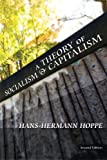 Book cover from A Theory of Socialism and Capitalism by Hans-Hermann Hoppe