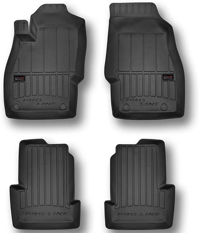 Frogum Alfombrillas de Goma 3D Pro-Line Opel Corsa D E Desde 2006