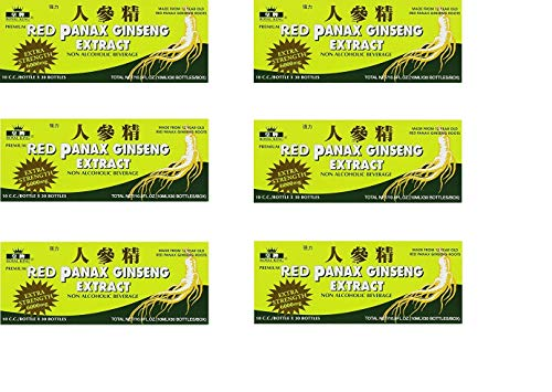 Royal King Red Panax Ginseng 30/10 6000mg (6 Boxes)